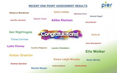 End Point Assessment results